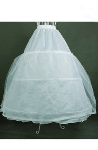 Bridal Wedding Petticoat with Three Rims Double-layer Yarn Wedding Accessories