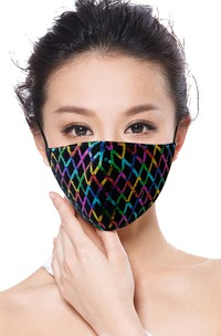 Non-Medical Stunning Sequins Face Mask